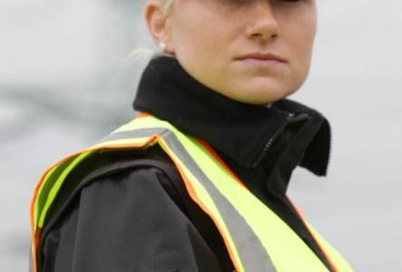 German drugs police dressed with marijuana-leaf uniforms