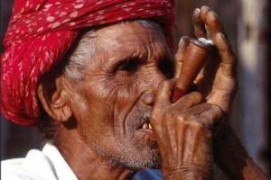 Indian Chillum used for smoking Marijuana
